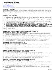 resume objective for management best resume sample resume objectives for management sample resume objectives for qavd3xlj
