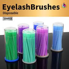<b>100PCS</b>/<b>Lot Hot sale Multi</b>-purpose Plastic Micro Brush Disposable ...