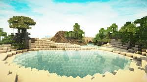 Resultado de imagem para paisagens do minecraft