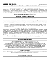 example cv resume sample gallery professional profile resume    gallery professional profile resume examples criminal justice resume objective sample