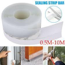0.5M-<b>10M Transparent</b> Windproof Silicone Sealing Strip Bar Door ...