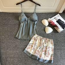 <b>BZEL</b> Women Sexy Lace <b>Pajamas</b> Set Ladies Lingerie Nightwear ...