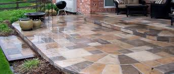 concrete patio squares