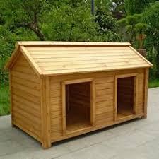 ideas about Wood Dog House on Pinterest   Wood Dog  Dog    Spartan dog house