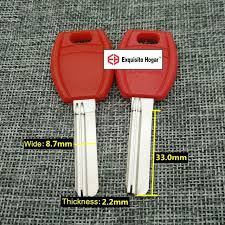 Best quality House Home Door Red Blank Key 33mm Locksmith ...