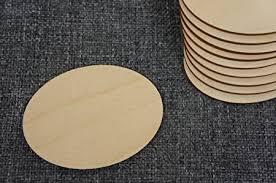 DECOCRAFT 10x <b>Wooden Oval</b> Blank Plaque Embellishment Craft ...