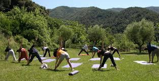 Resultat d'imatges de fotos de yoga en grupo