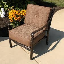 comfortable patio chairs aluminum chair: aluminum patio furniture care casual patio furniture southwind deep seating