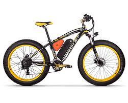 <b>RICH BIT</b> TOP-022 1000w 48v 17Ah Black Yellow <b>Electric</b> Fat Tire ...