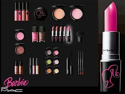 Barbie loves MAC makeup Samples