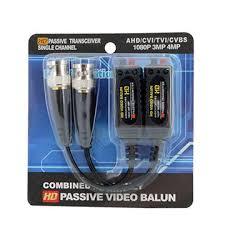 2019 <b>NEW CCTV</b> video balun Passive for <b>HD 1080P 3MP 4MP</b> 5MP ...