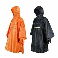 <b>Waterproof</b> Rain <b>Poncho Cycling Bicycle Raincoat Reflective</b> Strip ...