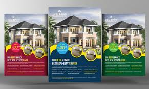 advertising flyer template psd for products business events and real estate advertisement flyer template