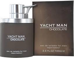 <b>Yacht Man Chocolate</b> by <b>Myrurgia</b> for Men - 3.4 oz EDT Spray ...