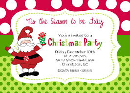 holiday party invite christmas party invitation