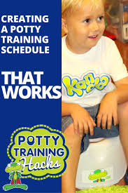 creating a potty training schedule that works a solid potty training schedule can set you and your toddler up for success especially
