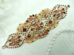 Sequin & <b>Rhinestone Appliques</b> & Venice Lace <b>Trim</b> For Sale from ...