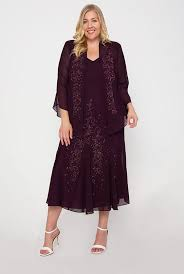 Flattering Plus Size <b>Mother</b> of the Bride Dresses