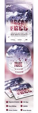 break church flyer and cd template psdbucket com break church flyer and cd template