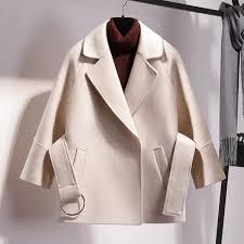 <b>2019 New Petite Short</b> Woollen Coat Women'S Autumn And Winter ...