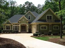Craftsman Home Plans   One Story Craftsman House Plan   H     Craftsman Home Plan  H