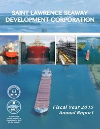 annual reports saint lawrence seaway related links slsdc fiscal year 2015 annual report