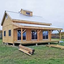 Kits for x Timber frame cabin   Jamaica Cottage Shop x Cabin   Custom Exterior