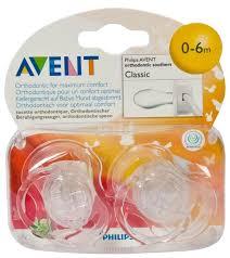 <b>Пустышка</b> силиконовая анатомическая Philips <b>AVENT Classic</b> ...