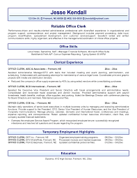 office administration resume examples manager administrative office administration resume examples office clerk resume example inspiring office clerk resume example full size