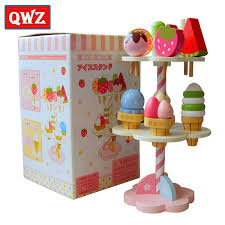 QWZ <b>Baby Toys</b> Simulation <b>Magnetic</b> Ice Cream Wooden <b>Toys</b> ...