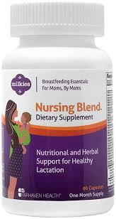 Milkies Nursing Blend with Fenugreek : A Natural ... - Amazon.com