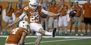 VIDEO: Texas kicker Nick Rose makes an 80-yard field goal in ...