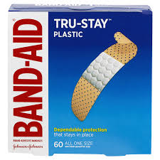 Band-Aid Brand Tru-Stay <b>Plastic</b> Strips <b>Adhesive Bandages</b>, All One ...