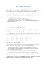 critique resume information for resume critique