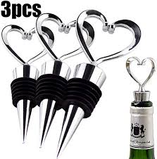 Barware <b>Wine Stoppers</b> & Pourers Cooking & Dining <b>4pcs</b>/set ...
