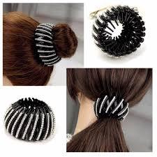 Trendy Acrylic Ball Head <b>Hair Claw Simple</b> Rhinestone <b>Women</b> Hair ...
