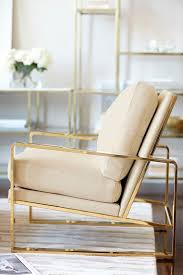 bernhardt interiors dorwin chair polished brass finish shown in ivory leather living bernhardt furniture reception room chairs
