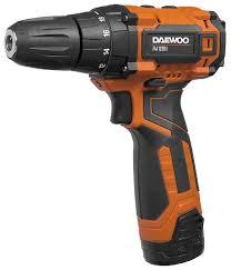 Аккумуляторная <b>дрель</b>-<b>шуруповерт Daewoo</b> Power Products <b>DAA</b> ...