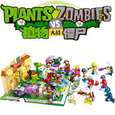 16 in 1 <b>Military Series Superhero</b> Series Plants vs Zombies mini ...