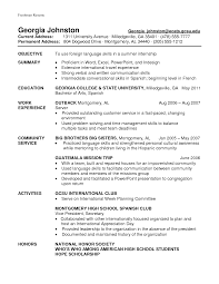 high school resume sample for career objective with education and     Willow Counseling Services Cv Organisational Skills And Competencies Examples