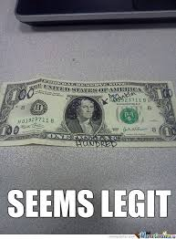 One Dollar Memes. Best Collection of Funny One Dollar Pictures via Relatably.com