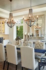 dining room lighting dining room chandelier is wooden wine barrel strave chandelier in breakfast room lighting