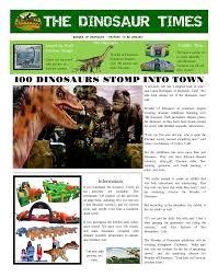enewspapers and print newspapers for everyone makemynewspaper wonder of dinosaurs