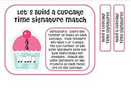 Made for <b>Music</b> Teachers: Cupcake Time Signature Match <b>Game</b> ...