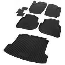<b>Комплект ковриков салона и</b> багажника Rival для Volkswagen ...