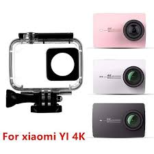 <b>SnowHu For Xiaomi Yi</b> 4K Accessories Stick Waterproof Case ...