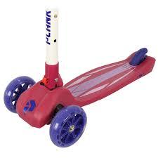 Детский трехколесный <b>самокат Plank Orbit</b> красный купить в ...