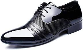 <b>Men</b> Dress <b>Shoes Plus</b> Size 38-47 <b>Men</b> Business <b>Flat Shoes</b> Black ...