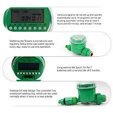 EBTOOLS Irrigation Timer Controller,<b>Automatic</b> Digital <b>LCD</b> ...