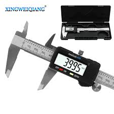 <b>6</b> Inch 0 <b>150mm Measuring Tool</b> Stainless Steel Caliper Digital ...